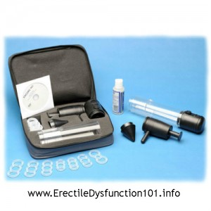 ERECTILE DYSFUNCTION ISSUES AND VACUUM THERAPY
