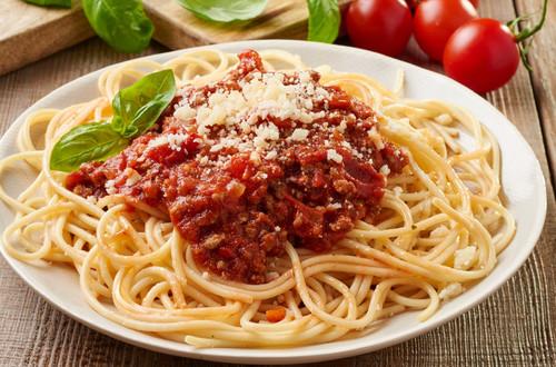 Vagina Taste Buds Spaghetti Bolognese