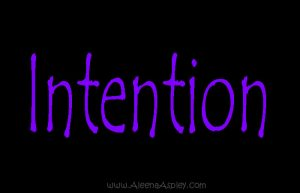 Intention makes you last longer